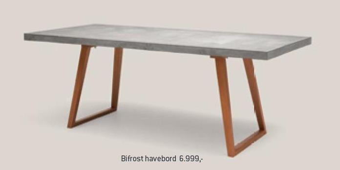 Bifrost havebord