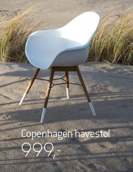 Copenhagen havestol