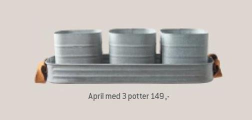 April med 3 potter